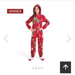 NWT Unisex holiday Pajamas - onesie